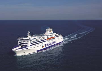 Brittany Ferries Normandie Ferry Review And Ship Guide