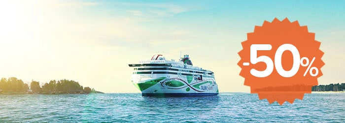 Up to 50% OFF with Tallink Silja